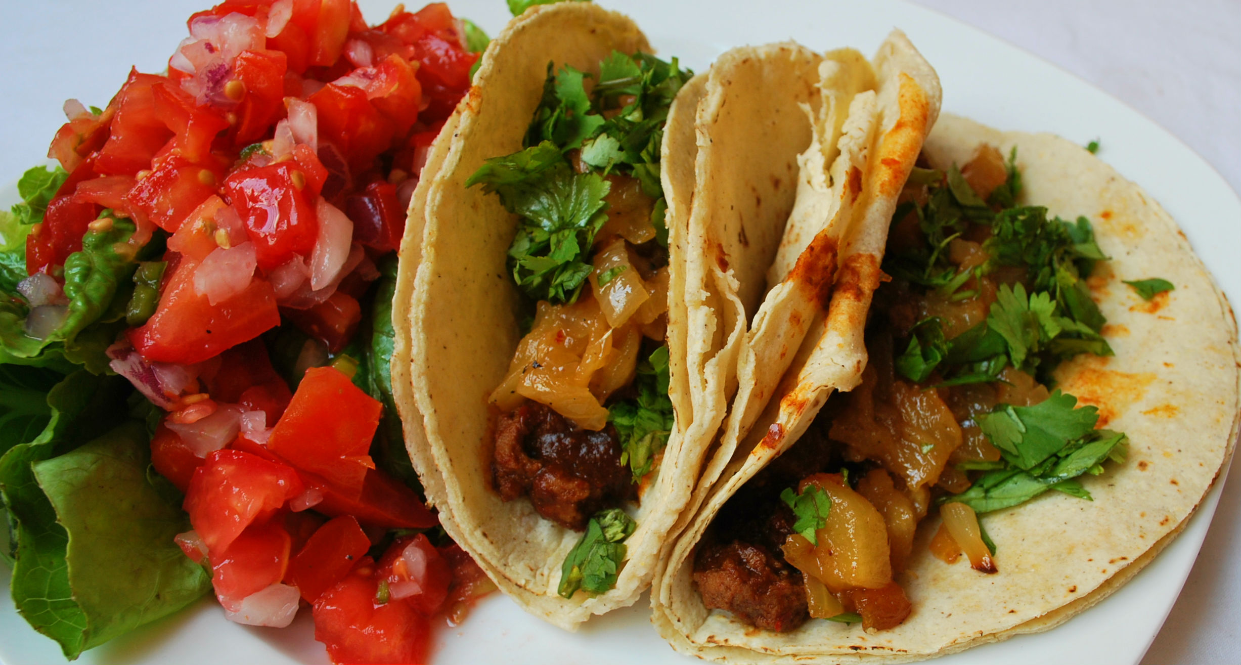 Tacos Al Pastor with Pineapple Salsa (Vegan) | The Wild Bohr