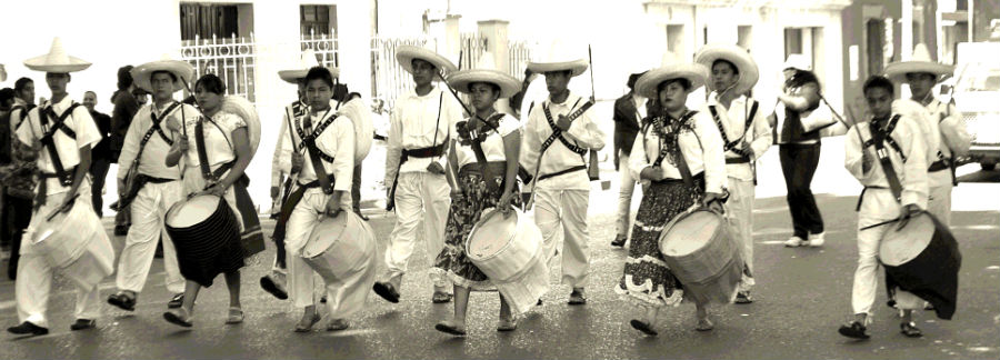 Revolution Day Parade, Oaxaca