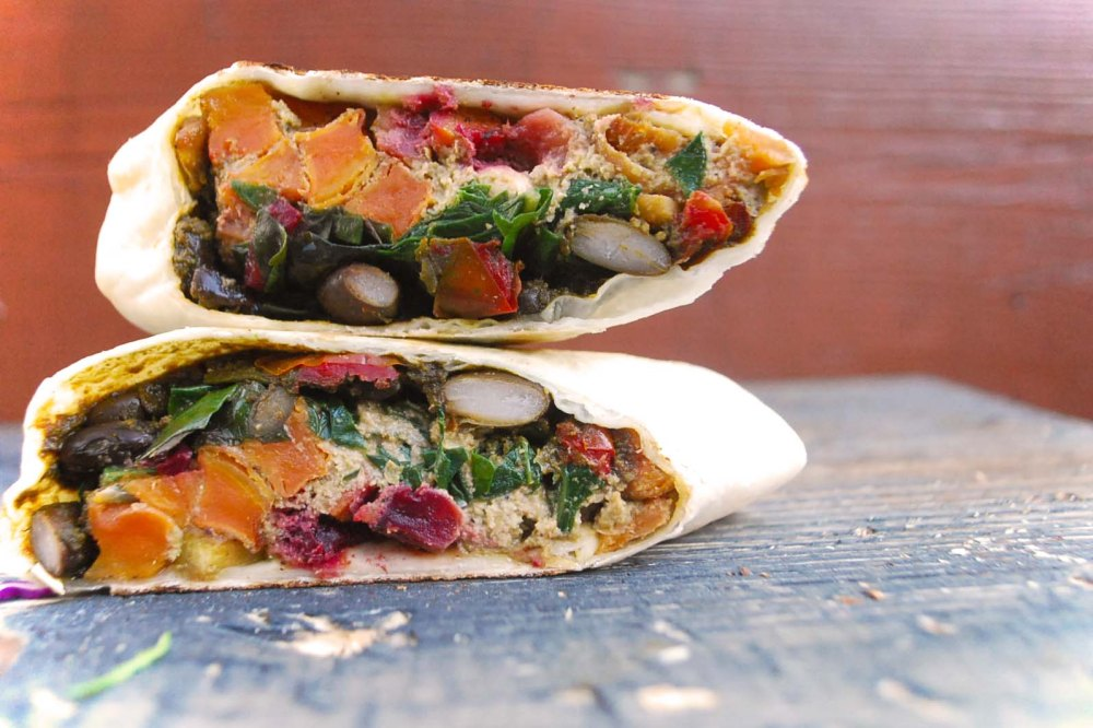 Roasted Veg Burrito _1